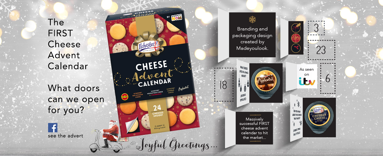The FIRST Cheese Advent Calendar What doors can we open for you?